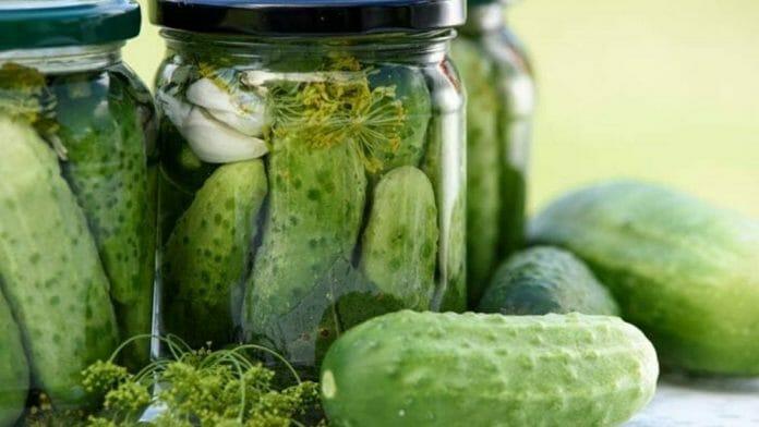 probiotiques naturels : Cornichon