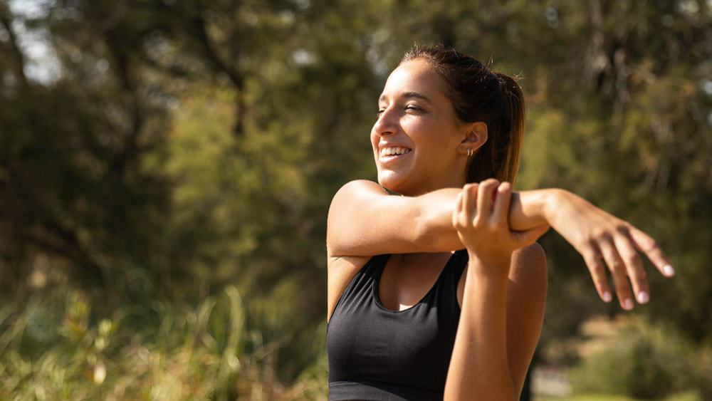 stretching échauffement