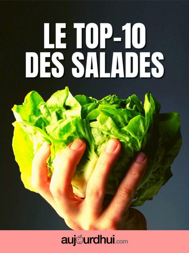 Top 10 des variétés de salades