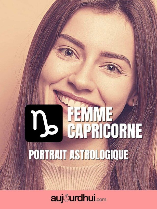 Femme Capricorne – Portrait astrologique