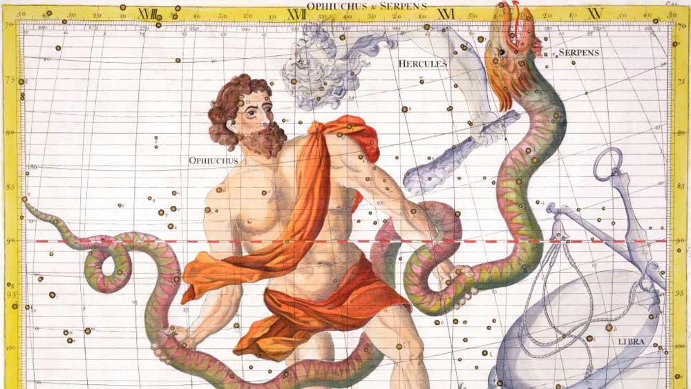 signe du Serpentaire, le 13e signe du zodiaque