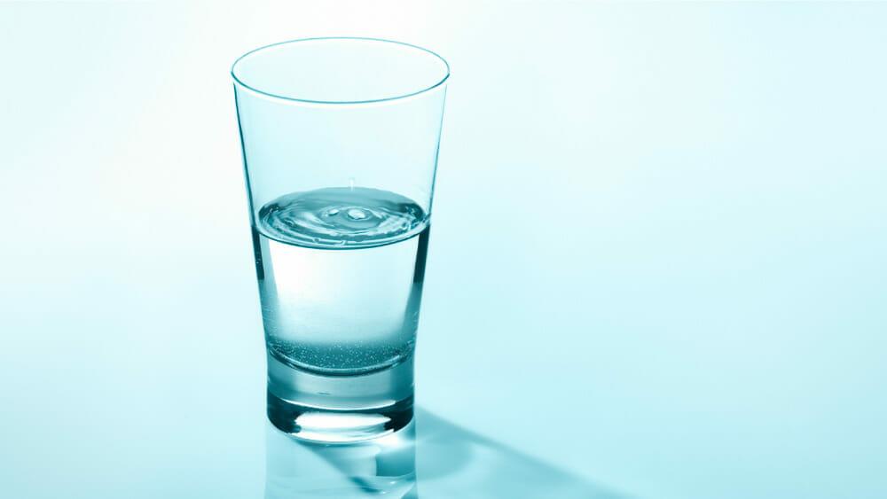 Voir le verre à moitié plein