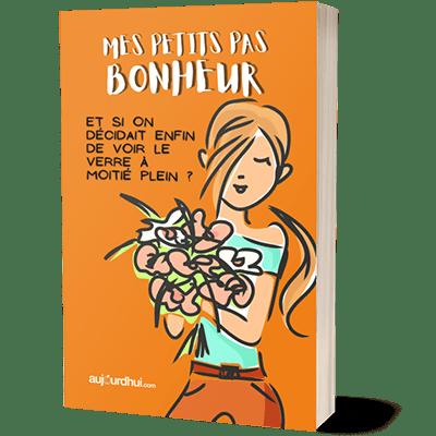 EbookCover 3D Petits Pas Bonheur