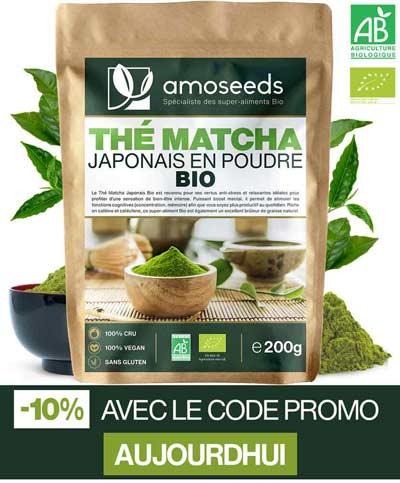 bienfaits du thé vert pour mincir thé matcha